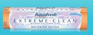 Free toothpaste sample