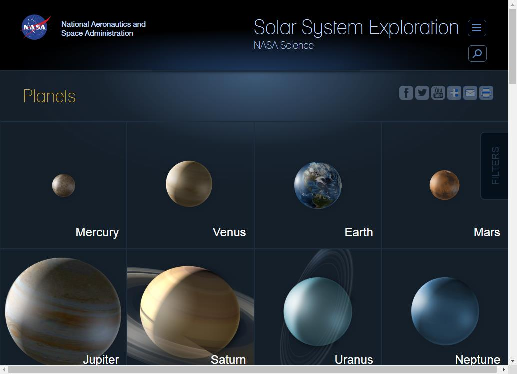 Learn About Our Solar System For Free | FREE THINGY .COM