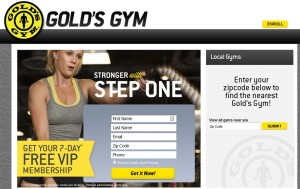 Free Golds Gym Membership